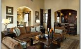 Mediterranean Style Living Room Decor