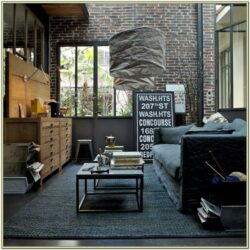 Modern Industrial Decor Living Room