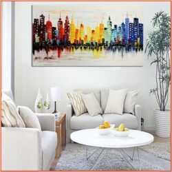 Modern Living Room Wall Decor Set
