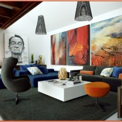 Modern Wall Designs For Living Room