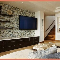 Modern Wall Tiles Design For Living Room