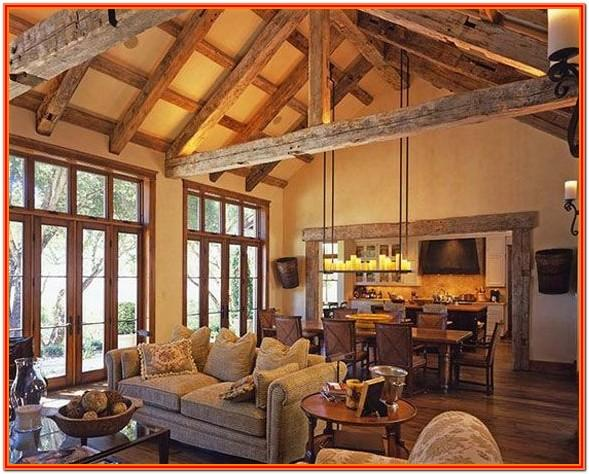 Mountain Cabin Living Room Ideas