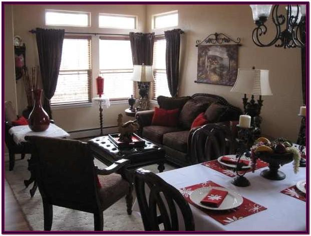 photos of living room dining room combinations