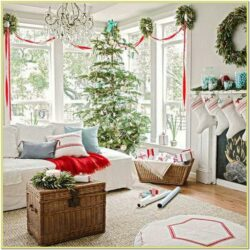 Pictures Christmas Decorated Living Rooms