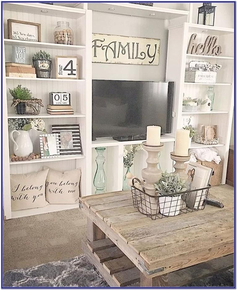 Pinterest Farmhouse Living Room Wall Decor