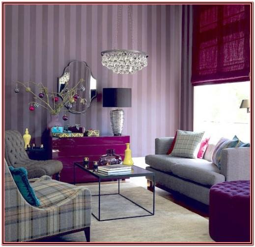Purple Living Room Decor Ideas