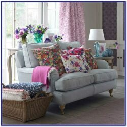 Red Floral Living Room Ideas