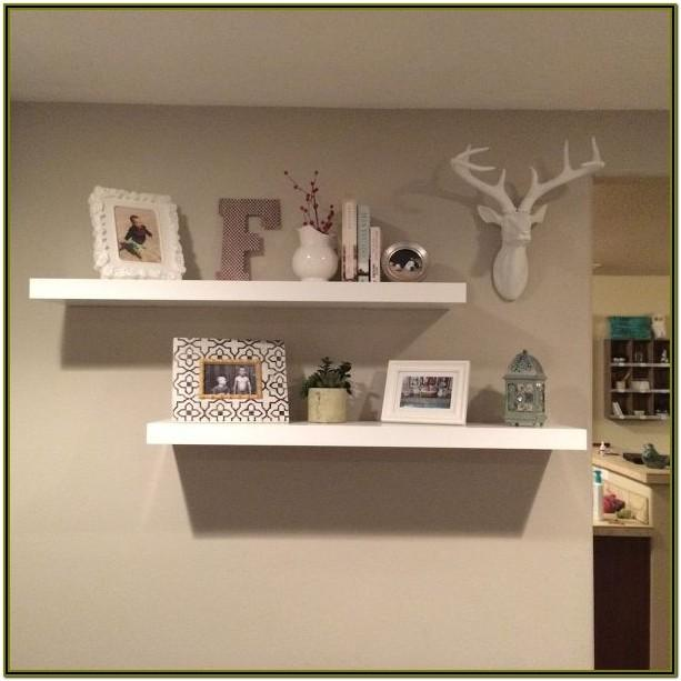 shelf decorations for living room