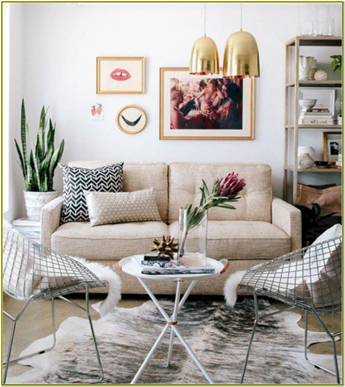 Small Apartment Living Room Decorating