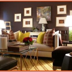 Small Dark Living Room Decorating Ideas