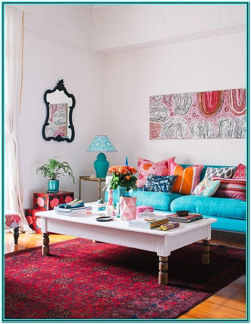 Teal And Orange Living Room Decor Ideas
