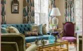 Teal And Purple Living Room Decor