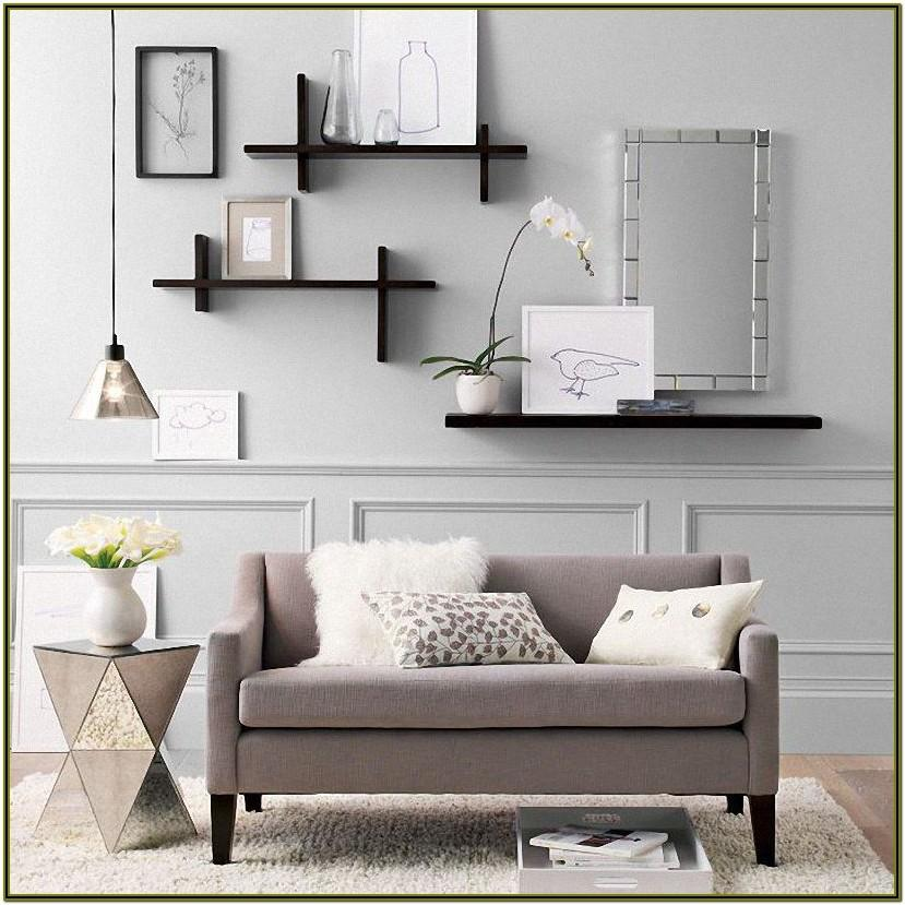 Wall Shelf Design For Living Room