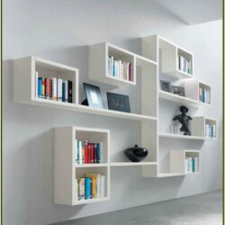 Wall Shelf System Living Room