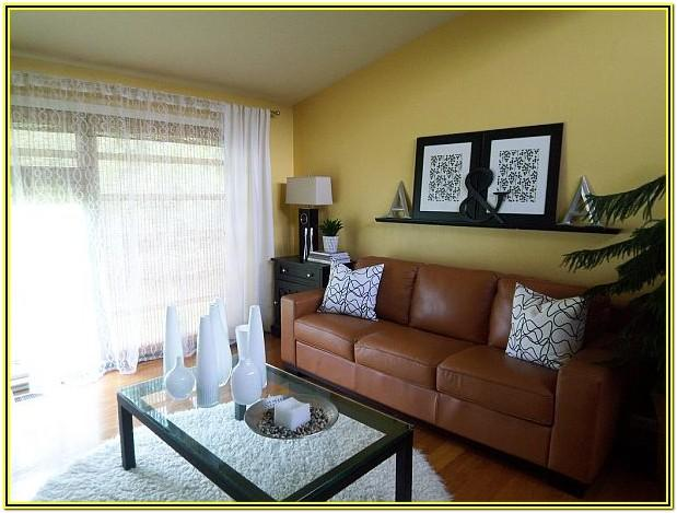 Yellow And Brown Living Room Decorating Ideas