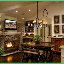 African Themed African Living Room Ideas