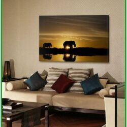 African Themed Living Room Idea