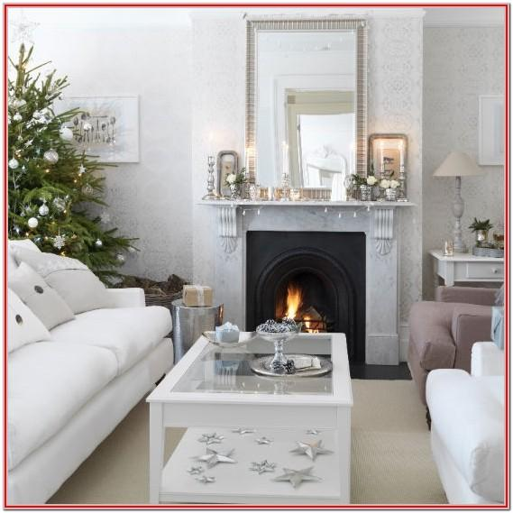 Apartment Simple Christmas Living Room Decor