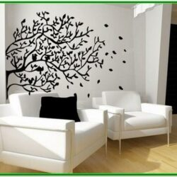 Art Creative Living Room Wall Decor Ideas