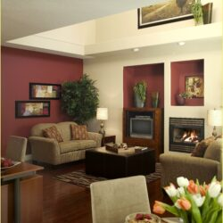 Beige And Burgundy Living Room Ideas Scaled