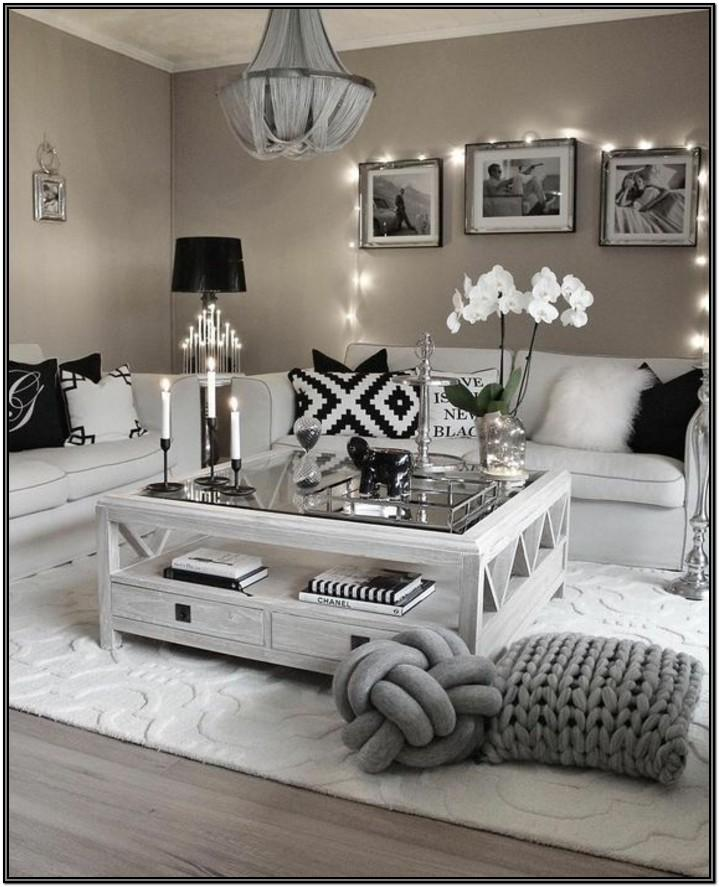 Black And Silver Living Room Decorating Ideas