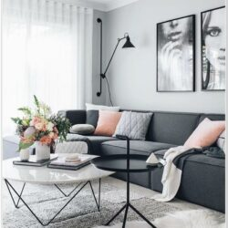 Black Furniture Living Room Ideas Pinterest