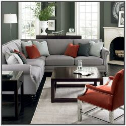Black Grey And Red Living Room Ideas