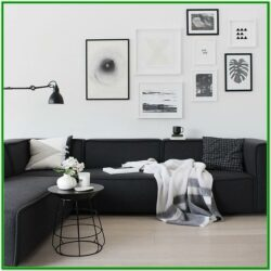 Black Sofa Living Room Decorating Ideas