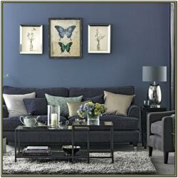 Blue And Gray Living Room Decor