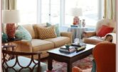 Blue And Orange Living Room Decorating Ideas
