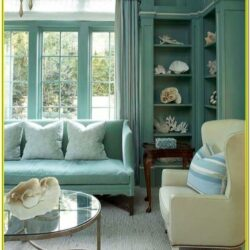 Brown And Aqua Living Room Ideas
