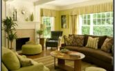 Brown And Yellow Living Room Ideas