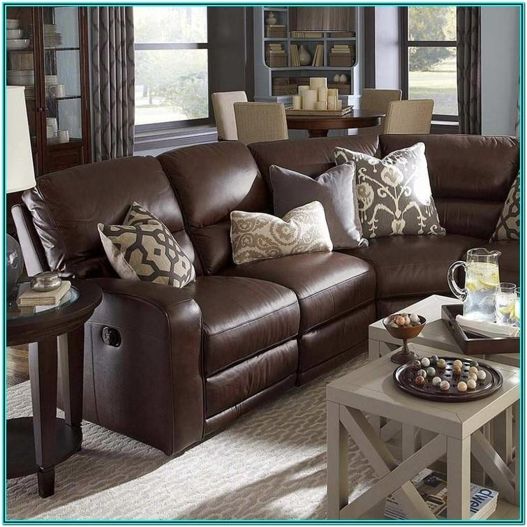 Brown Leather Couch Decorating Ideas Living Room
