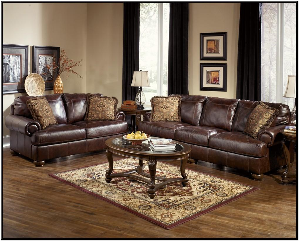 Brown Leather Sectional Living Room Ideas