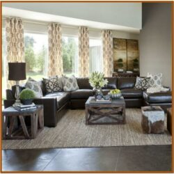 Brown Sofa Decorating Living Room Ideas 2