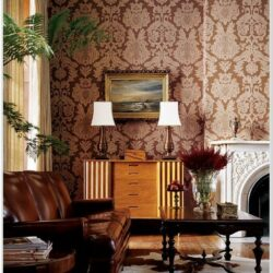 Brown Wallpaper Ideas For Living Room