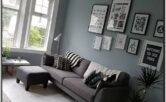 Charcoal Sectional Living Room Ideas