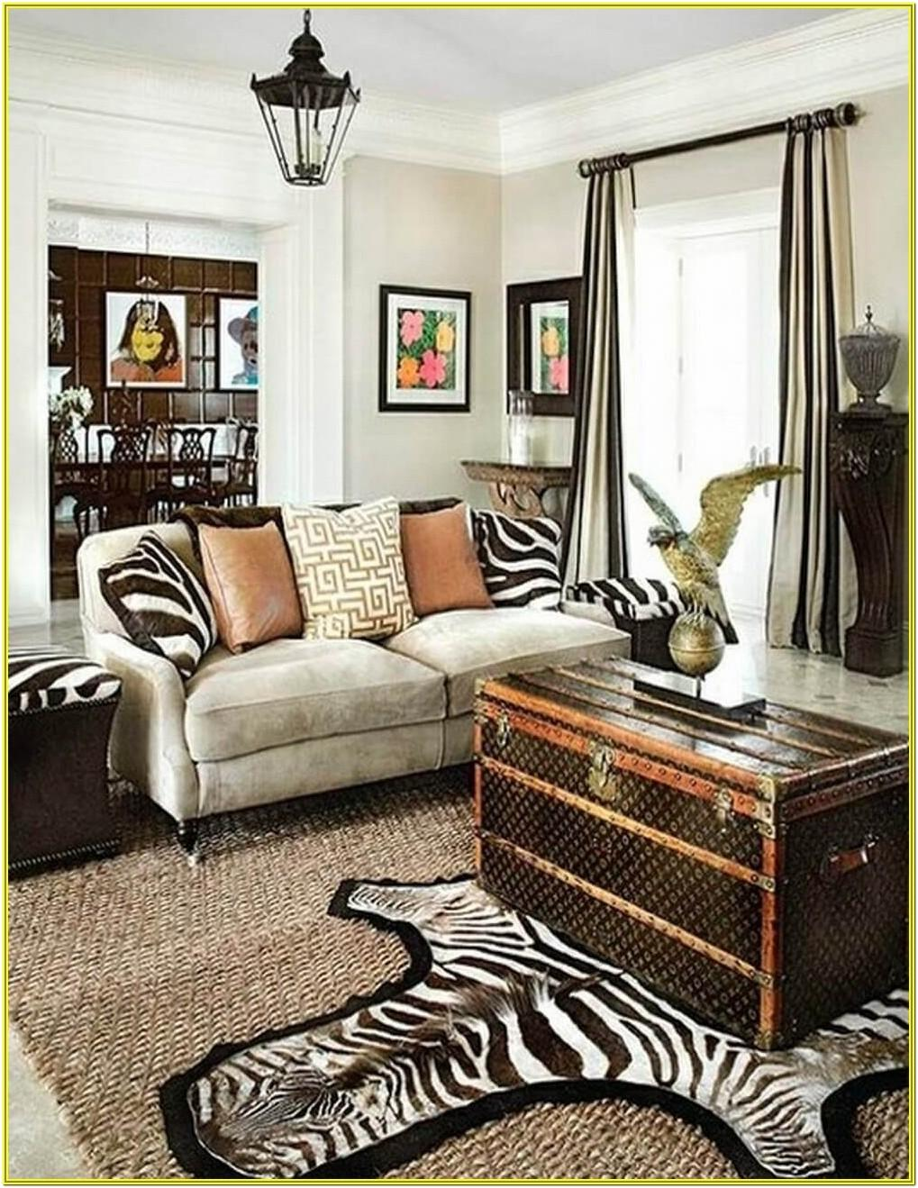 Cheetah Print Living Room Ideas