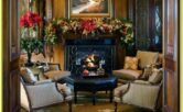 Christmas Living Room Ideas Red And Gold