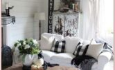 Coffee Table Modern Farmhouse Decor Living Room