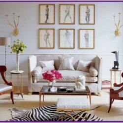Contemporary Modern Trendy Living Room Decor