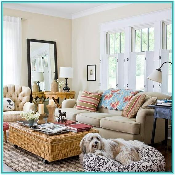 cottage style living room decorating ideas