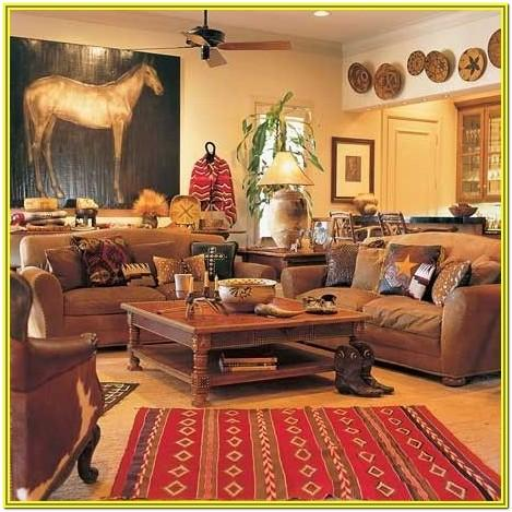 Country Western Living Room Ideas