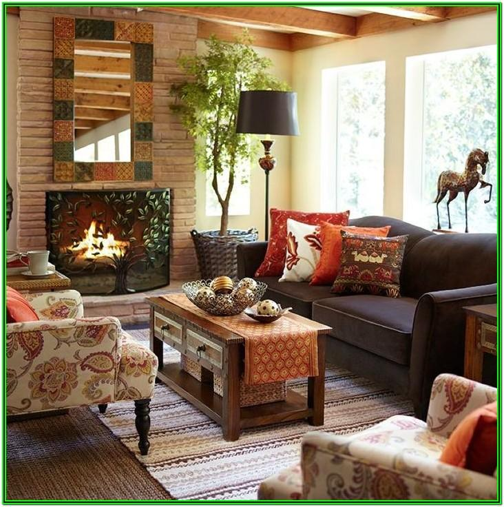 Cozy Traditional Living Room Decor
