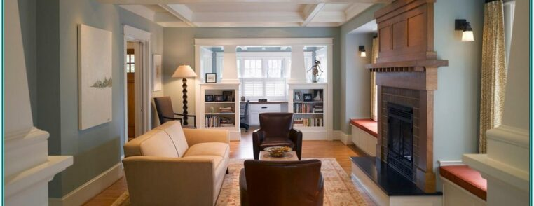 Craftsman Living Room Decorating Ideas