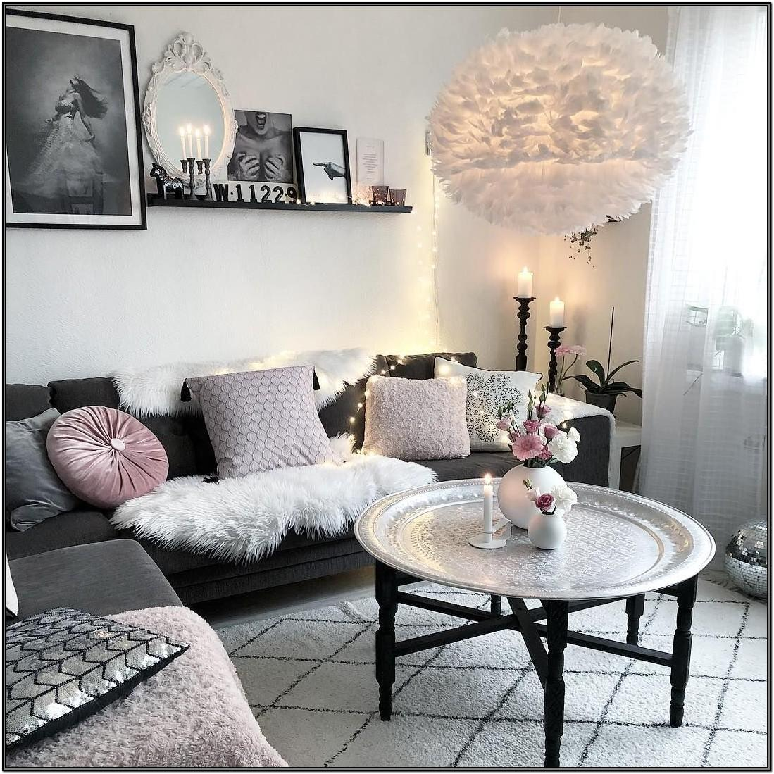 Cute Girly Living Room Ideas