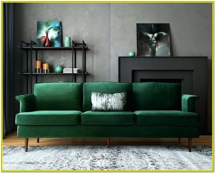 Dark Green Couch Living Room Ideas