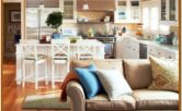 Decorate Small Kitchen Living Room Combo