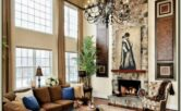 Decorating Living Room With High Ceilings