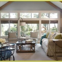 Decorating Living Room With Large Windows